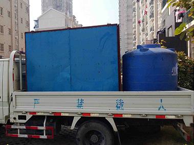 900公斤大型高压清射流清洗机