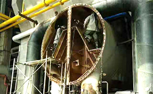高压水射流清洗凝器汽
